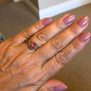 Cute Coral Colored Ring